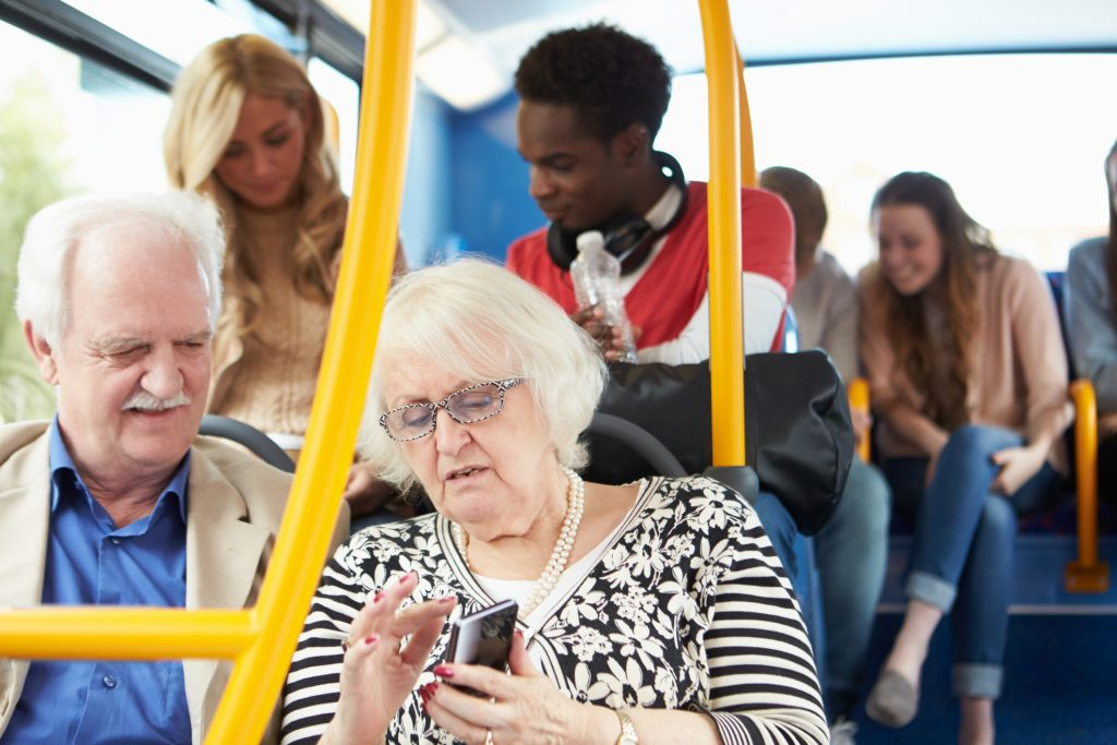Cognition and Decision Making Considerations in UI Design for Elderly