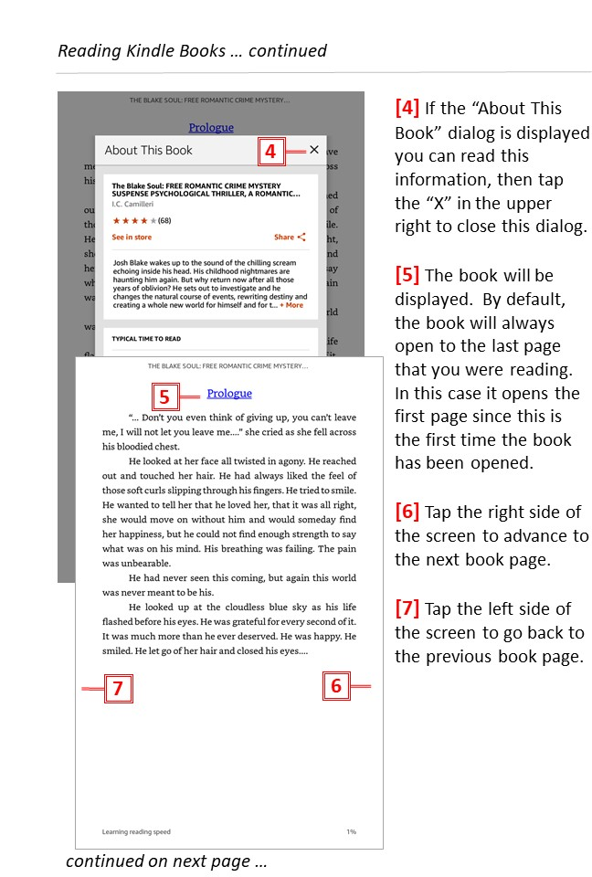 Reading free Kindle books -page 3 - Teaching technology to seniors.