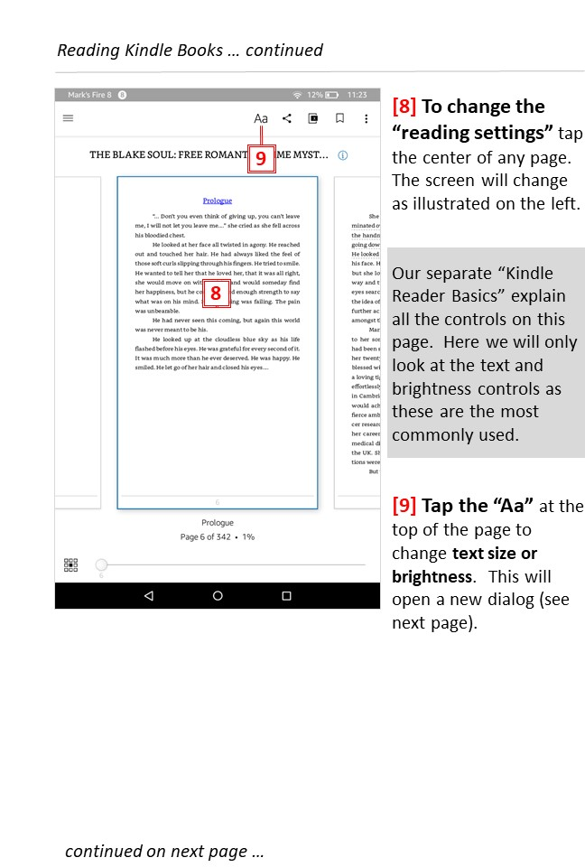 Reading free Kindle books -page 4 - Teaching technology to seniors.