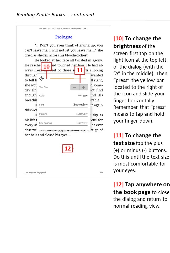 Reading free Kindle books -page 5 - Teaching technology to seniors.